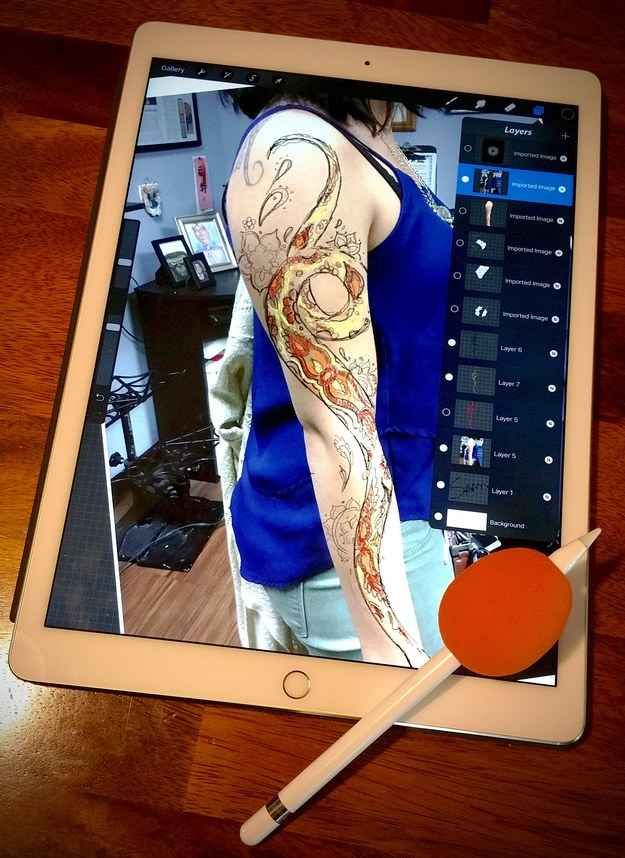 Here S How One Tattoo Artist Prevents Tattoo Regret Ipad Pro Art No Regrets Tattoo Tattoo Artists