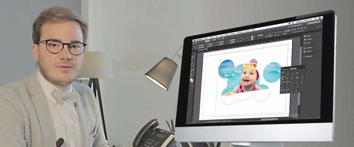 Tuto InDesign : Importer Une Image Dans Plusieurs Formes