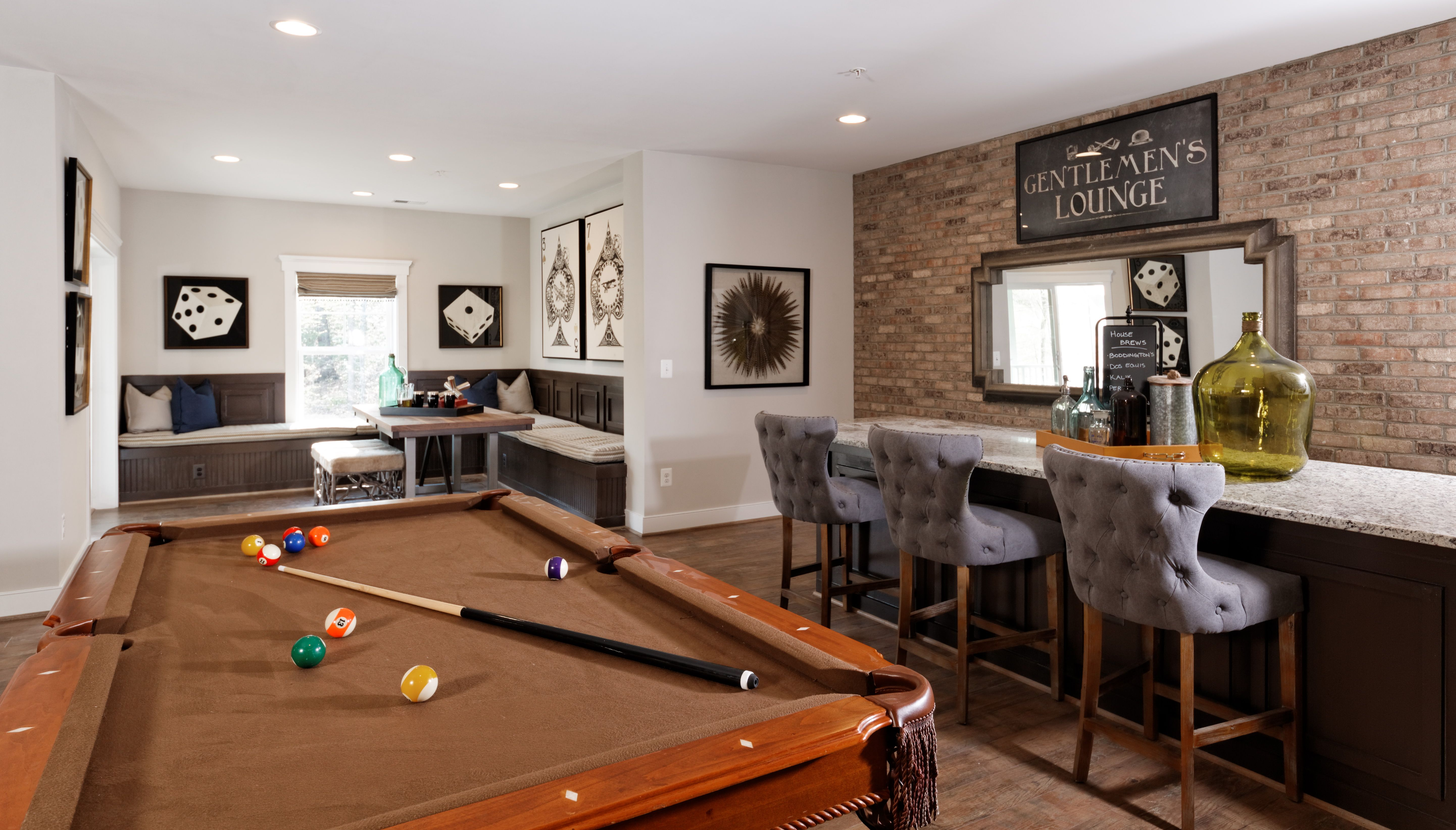 The Dream Man Cave The Ideal Entertaining Area With The Kensington - Kensington pool table