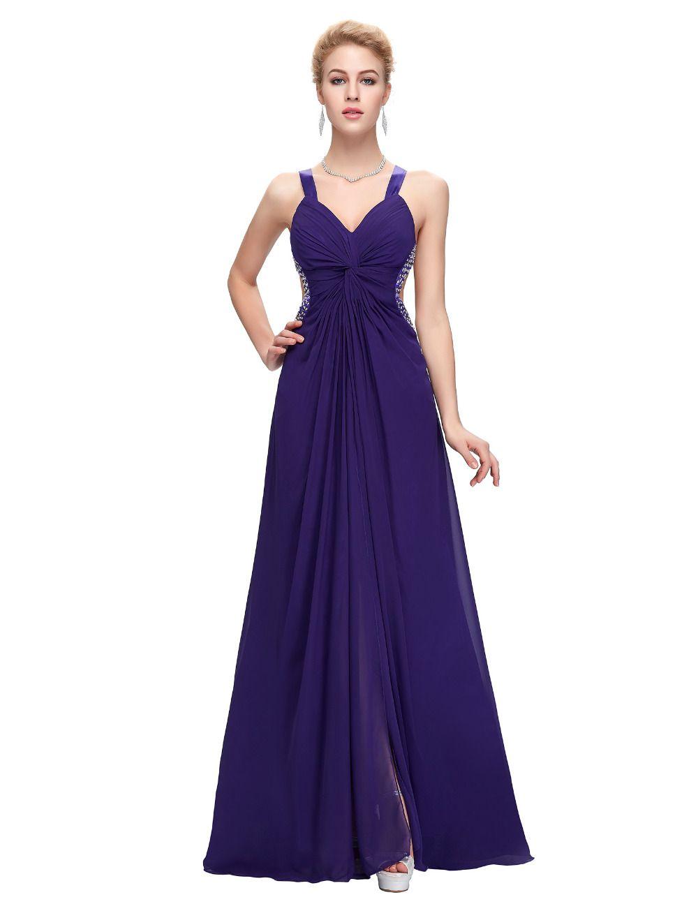 Aliexpress.com: Comprar Gracia Karin 2016 largo Prom vestidos Sexy ...