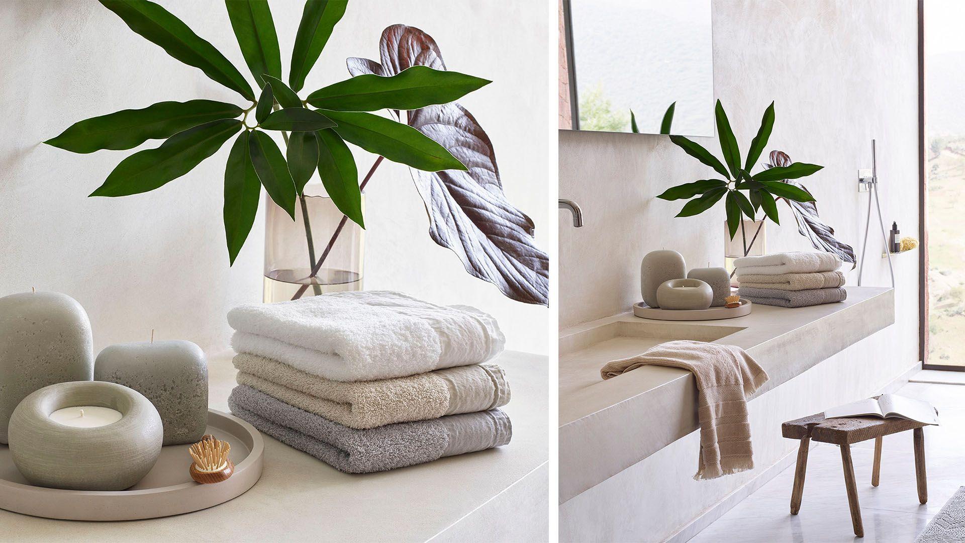 Textiles y accesorios de ba o zara home primavera verano for Zara home toallas bano