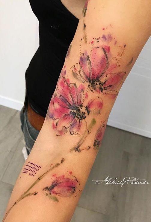 Photo of Tatouage De Fleurs De Style Tatouages # Flowertattoos – Tatouages de fleurs