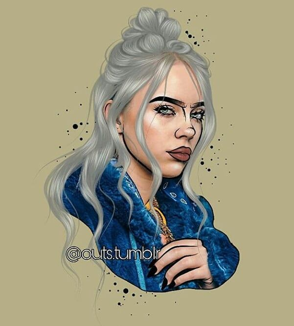 Billie Lorena Alvarez Billie Billie Eilish Drawings