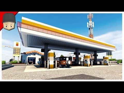 awesome minecraft gas station car wash gaming videos