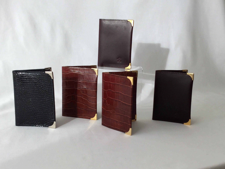 Men\'s Slim Bifold Veg Tan Leather Wallet, Card Holder, Travel Wallet ...