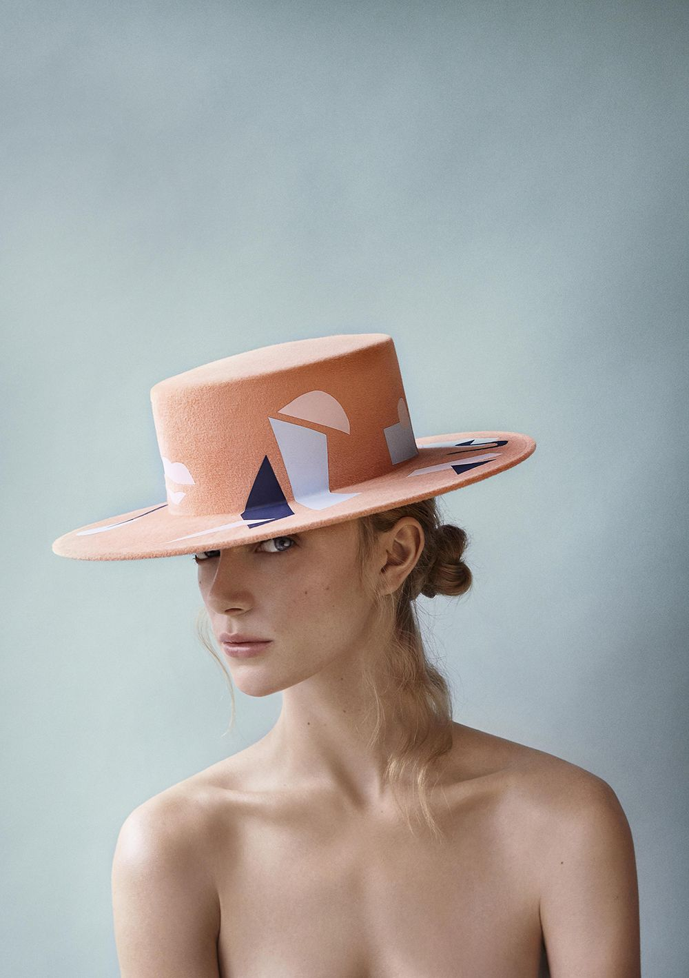British milliner Laura Apsit Livens Fashion Design 80cd80b5dab2
