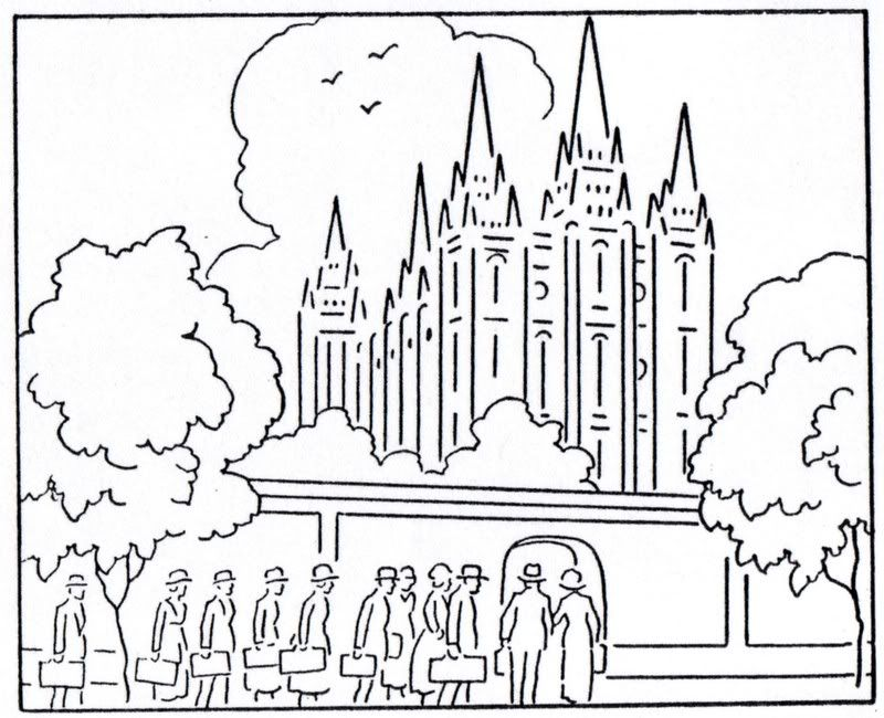Lds Temples Coloring Book | Coloring Page