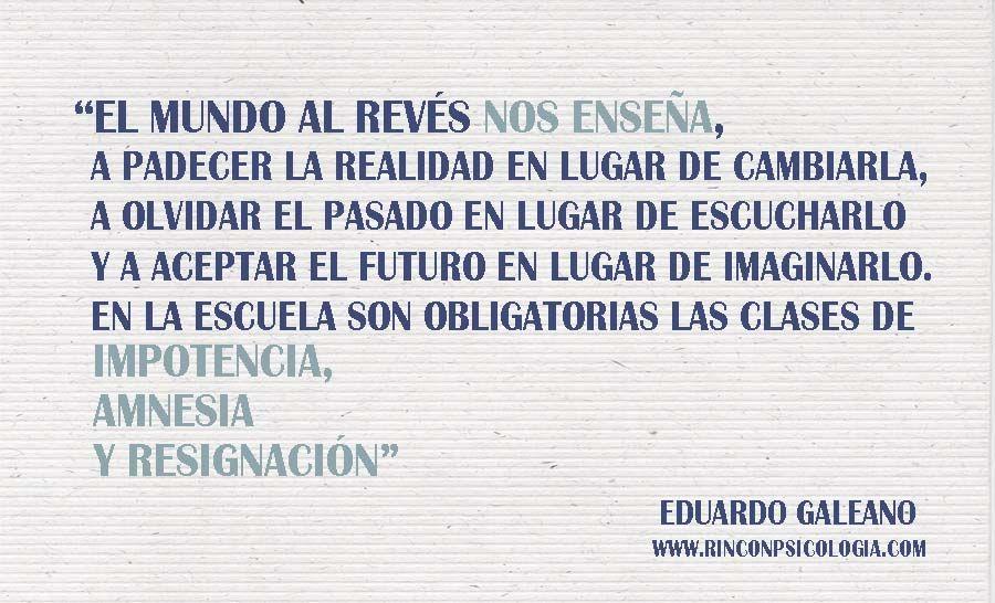 20 Frases De Amor De Eduardo Galeano: 20 Frases De Eduardo Galeano Que Sacuden El Alma Rincón De