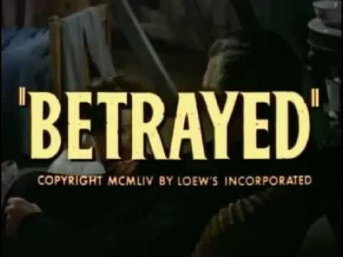 "Clark Gable & Lana Turner -  ""Betrayed"" (1954) -   Original Trailer"