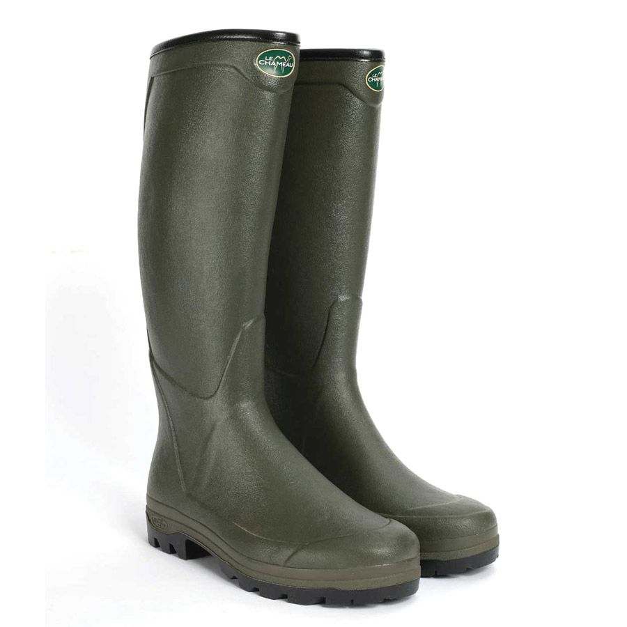 2019 original guter Service Discounter Le Chameau All Tracks Country Neoprene Wellington Boots ...