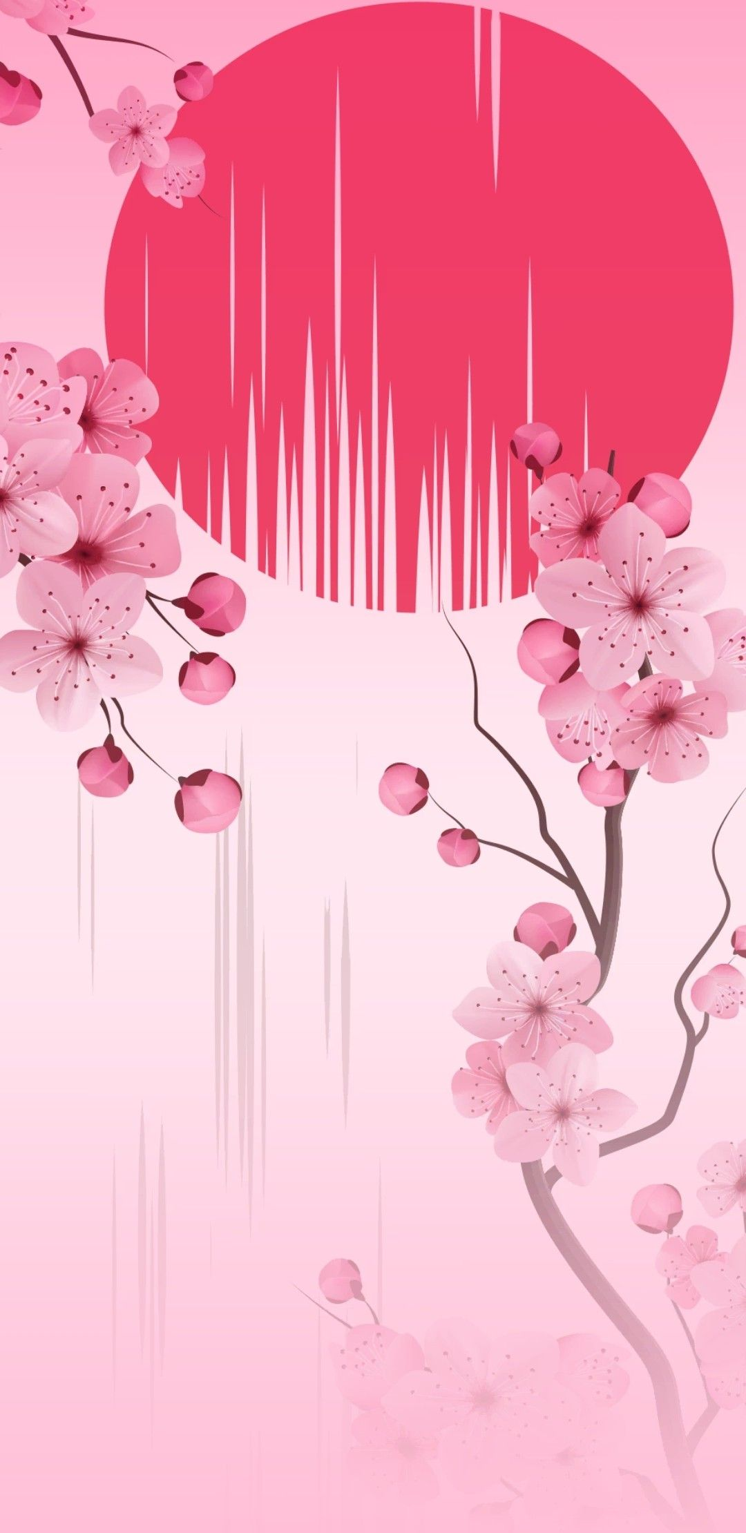 Pin By Yasmin Batista On Japanese Cherry Blossom Wallpaper Cherry Blossom Wallpaper Flower Wallpaper Anime Wallpaper