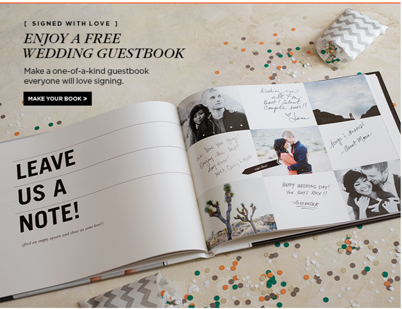 Free Wedding Guestbook Or Other Photo Book From Shutterfly Just Pay 8 99 S H The Coupon Project Wedding Guest Book Photo Guest Book Wedding Wedding Freebies