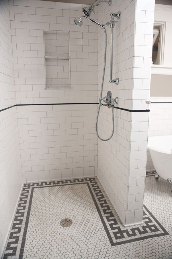 Historic tile reproductions flat edge tile to match tiles for 1890 bathroom design