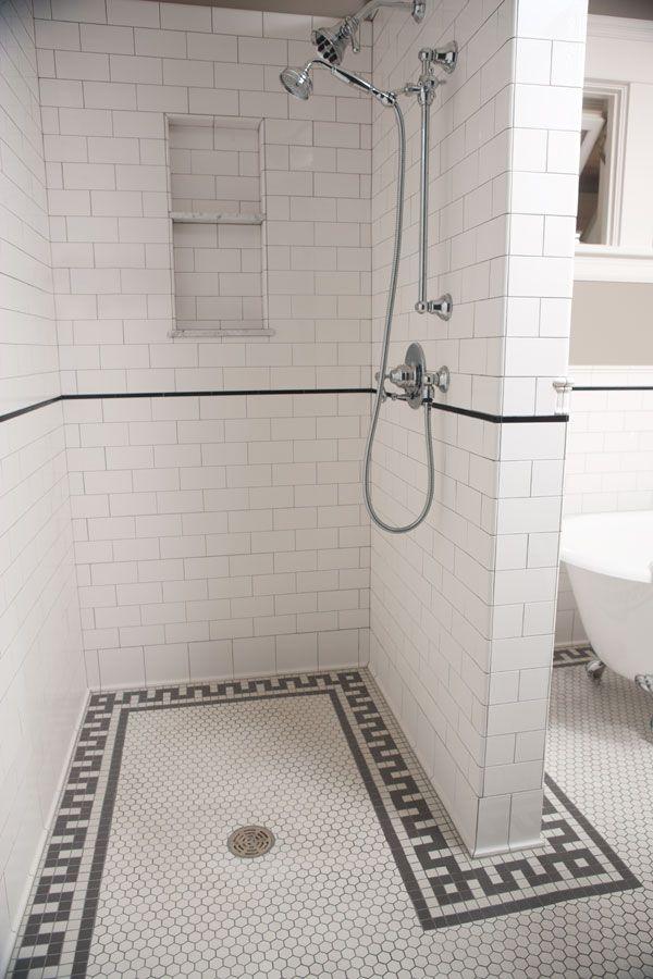 Classic Flat Edge Subway Hexagon Tile Tiles Of The 1890s 1930s