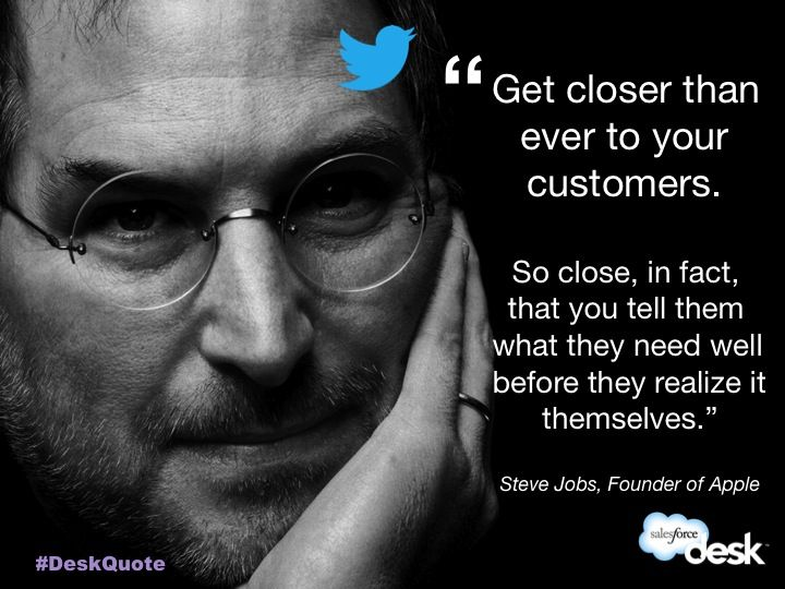 Steve Jobs, Founder of Apple customerservice quotes