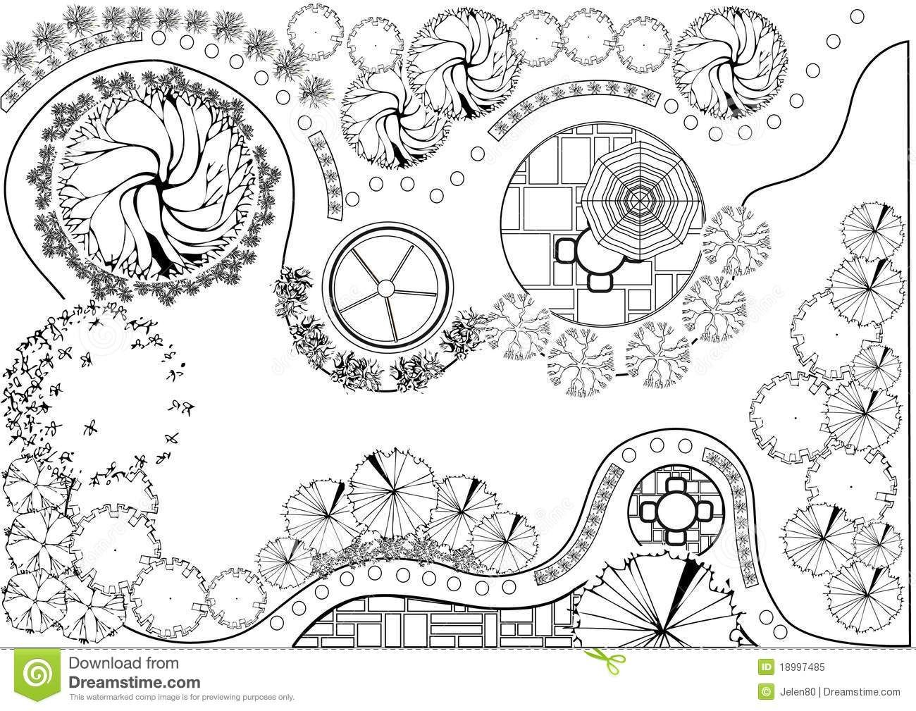 Garden Plan Black And White Garden Design Plans Landscape Design Drawings Garden Planning