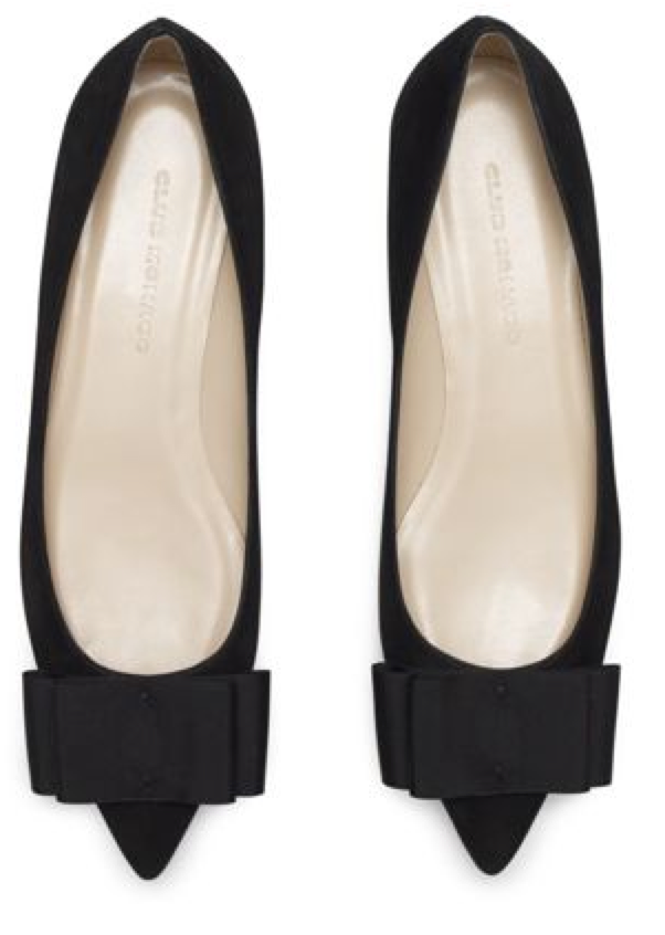 Shoes, Pointed toe shoes, Bow flats