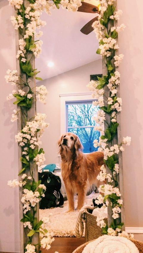 15 Ideas para decorar el espejo de tu habitación estilo Pinterest