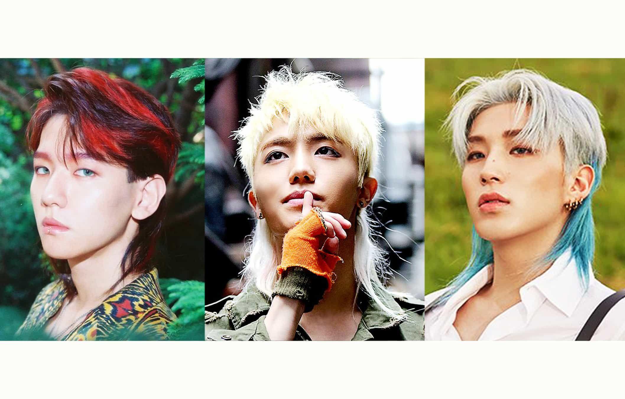 Image Result For Mullet Korean Black Hair Kpop Korean Hairstyle