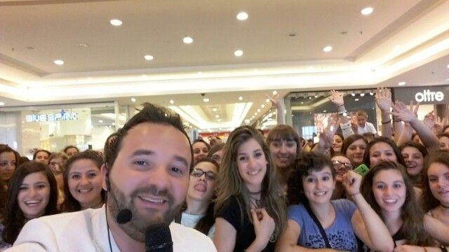 Un selfie con il mio pubblico..