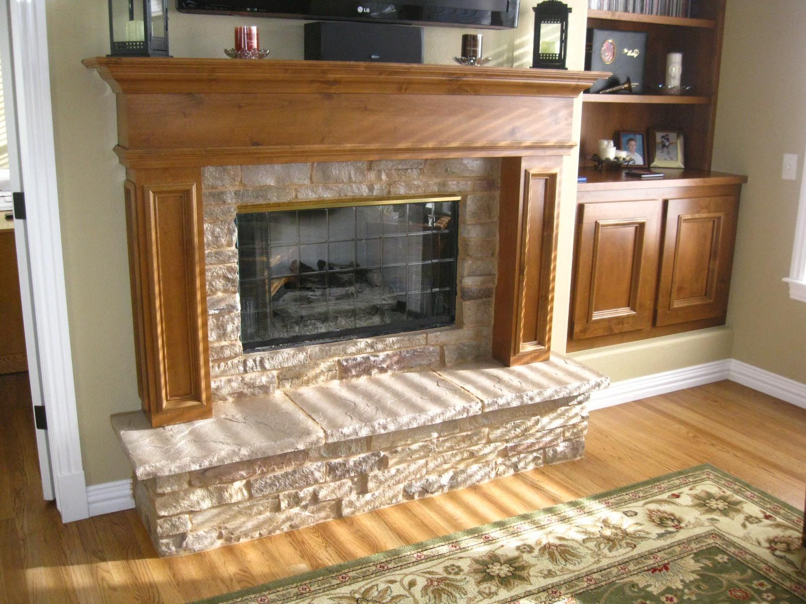 cosy s november fireplace faux fireplaces cove katty making a