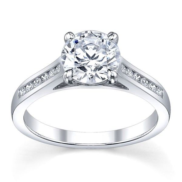 Classic Solitaire Gen197 Engagement Ring $1895.00