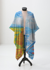 Do you love it? Season flow  Sheer wrap design by Priscilla Daniels.  Wear over your bathing suit by the pool or with jeans in the fall! use this code at checkout VOICESINSIDER to receive 15% off of order