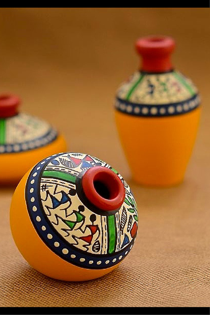 This Set Of Pot Is Made Of Terracotta Brought To You From