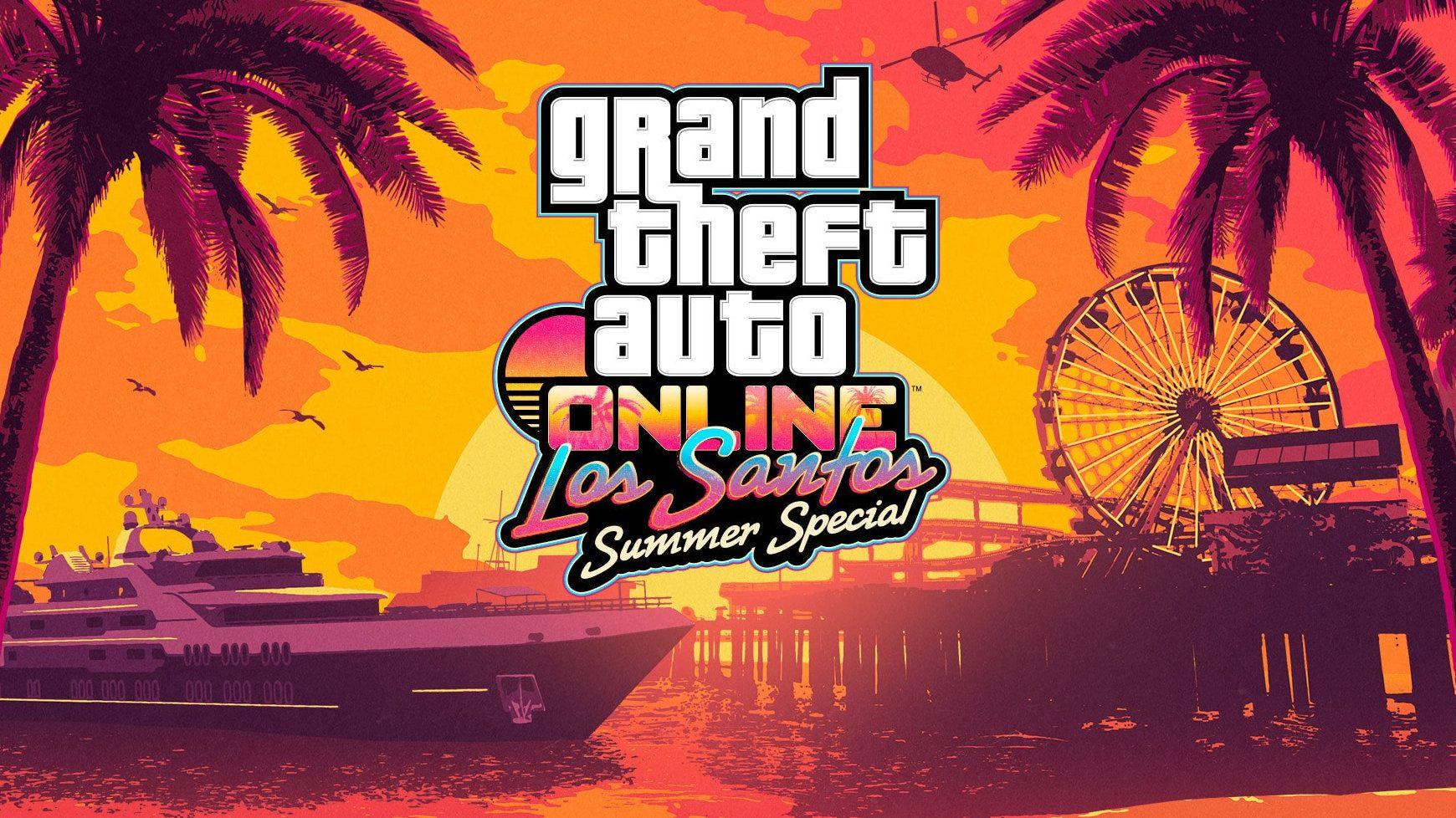 L Update Los Santos Summer Special Est Disponible Dans Gta Online En 2020 Grand Theft Auto Red Dead Redemption San Andreas