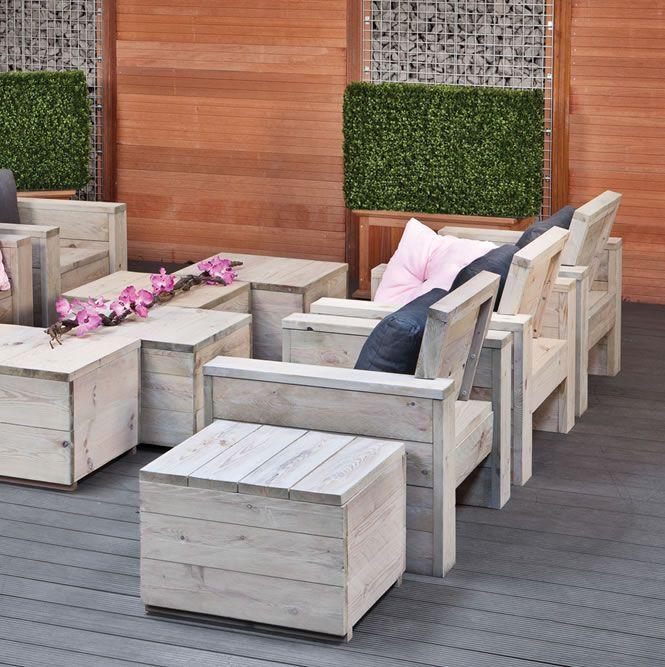 garden sofa with storage - Google Search  garde  Pinterest
