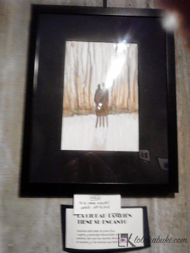 """EXPOSICIÓN DE LOLA KABUKI EN LA SALA """"OKE""""   Lola Kabuki  #love #art #watercolor #paintings #illustration"""