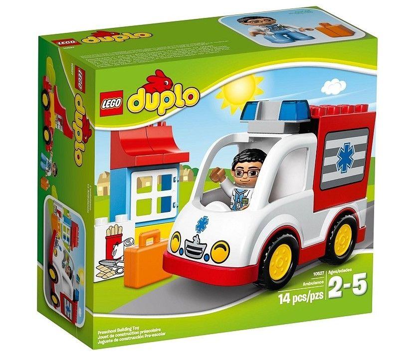 Лего 10527 Скорая помощь Lego. Возраст от 2 до 5 лет