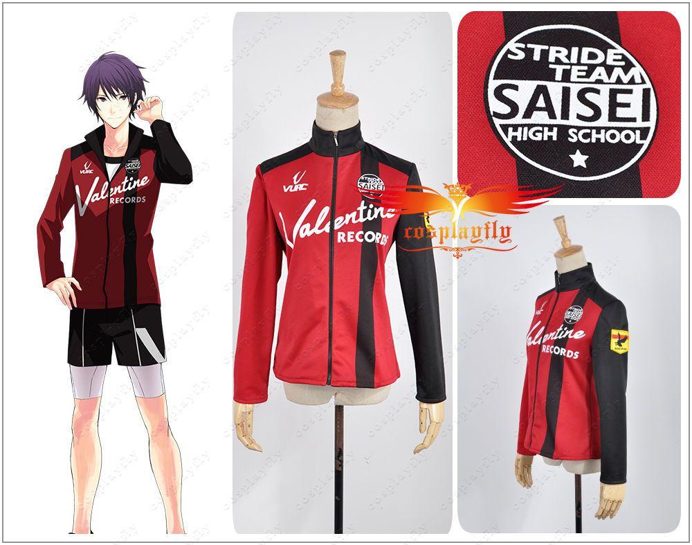 Prince of STRIDE Suwa Reiji Cosplay Costume School Sportswear Uniform Halloween