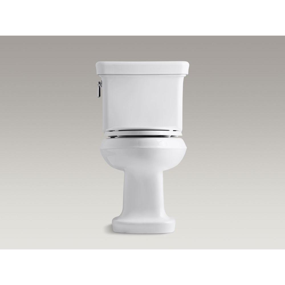 KOHLER Bancroft 2-Piece 1.28 GPF Single Flush Elongated Toilet ...