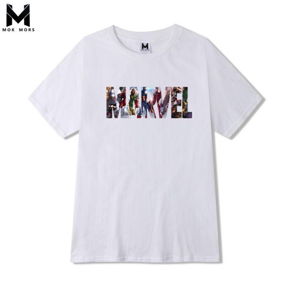 844dae1c9 Marvel Tshirts For Men | Marvel T-shirt Men Avengers T Shirt Iron Man  Captain America Printed Streetwear Daddy You Are My Favorite Superhero Gift  Tshirt ...