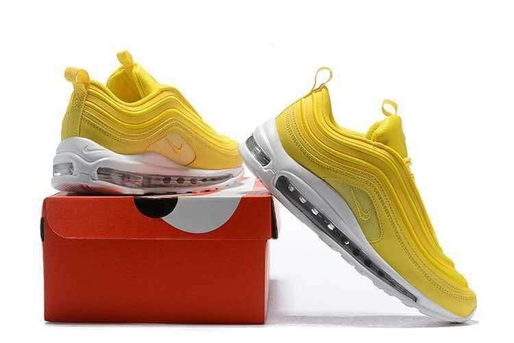 09d07d4ca6 Air max 97 ???? lemonade ???? Size 5.5-7.5 #fashion #clothing #shoes  #accessories #womensshoes #athleticshoes