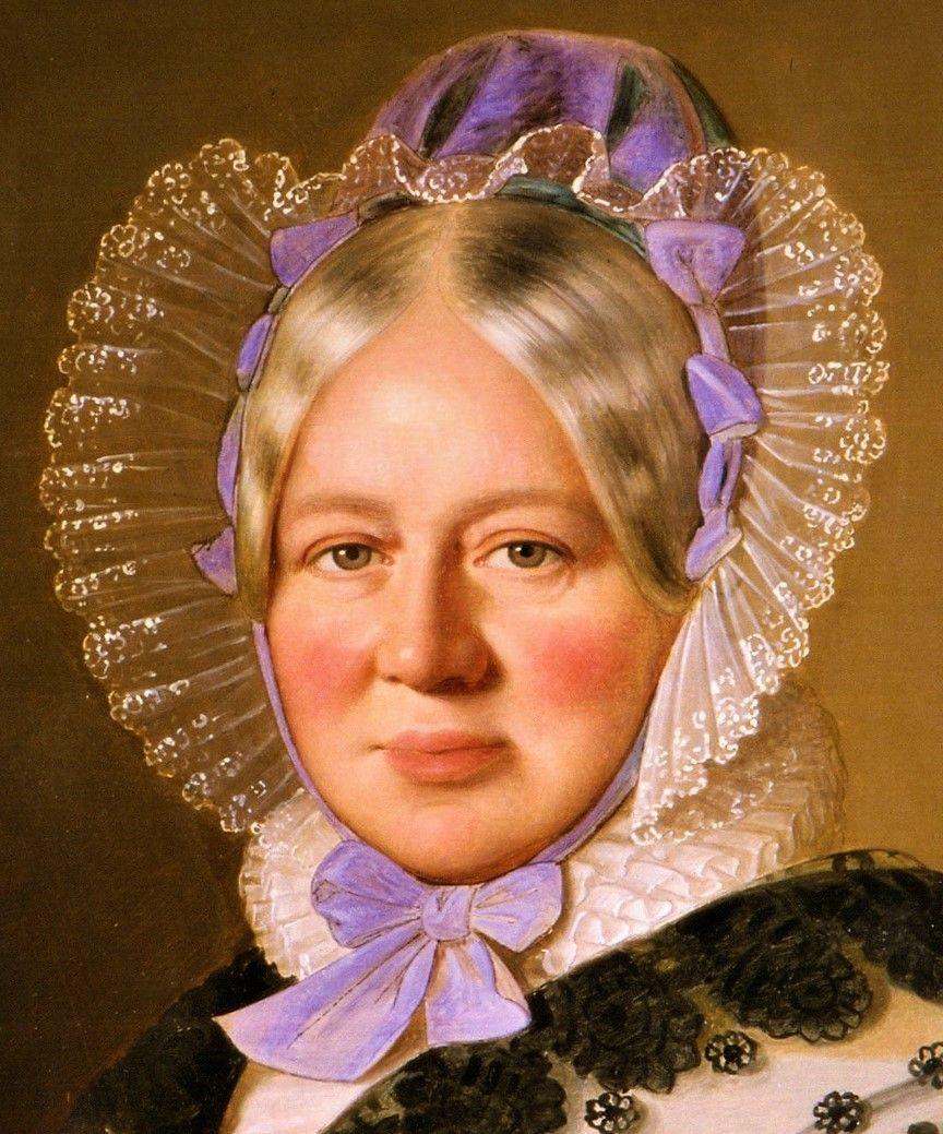 Princess Henriette of Nassau-Weilburg by Anton Einsle,1838