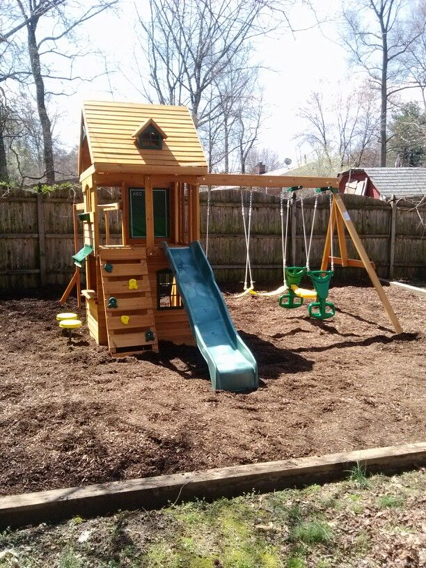 Big Backyard Ridgeview Playset from Toys R Us installed in Deptford ...