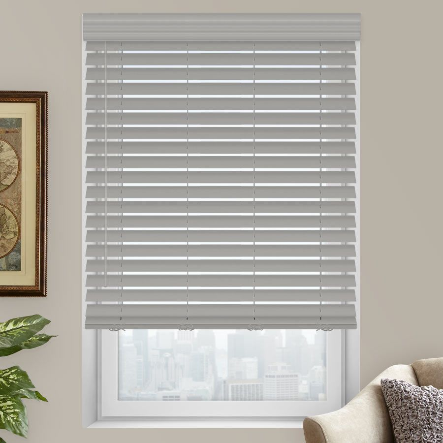 2 premium faux wood blinds from blinds