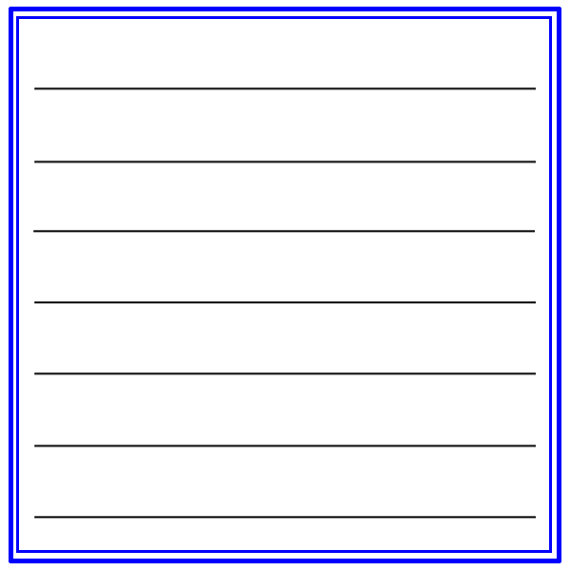 Journal Blockz Red Blue Patriotic Etsy In 2021 Note Card Template Flash Card Template Recipe Cards Template