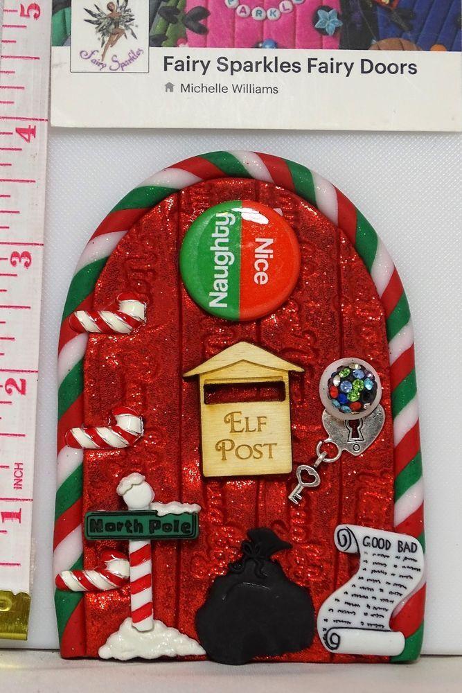 Christmas fairy door elf shelf door by fairy sparkles for Elf door and elf