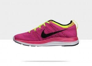 Volt courir Flyknit Lunar Femme Flash mode Nike Rose Chaussures 1 AzHgBq