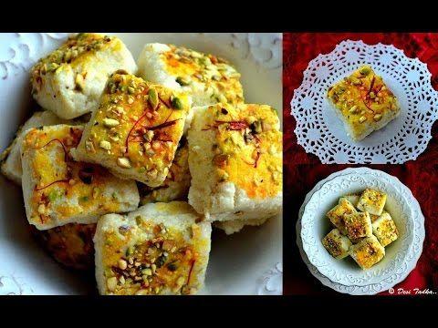 Presenting Instant Kalakand Kalakand Recipe With Condensed Milk Kalakand Barfi With Milk And Paneer Youtube Kalakand Recipe Recipes Condensed Milk Recipes