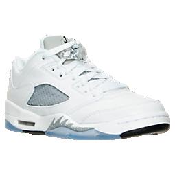 best sneakers dac2b ddcaa Girls' Big Kids' Air Jordan Retro 5 Low (3.5y-9.5y ...