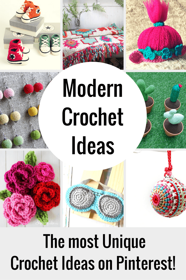 These unique crochet ideas are for beginners, intermediate and ...