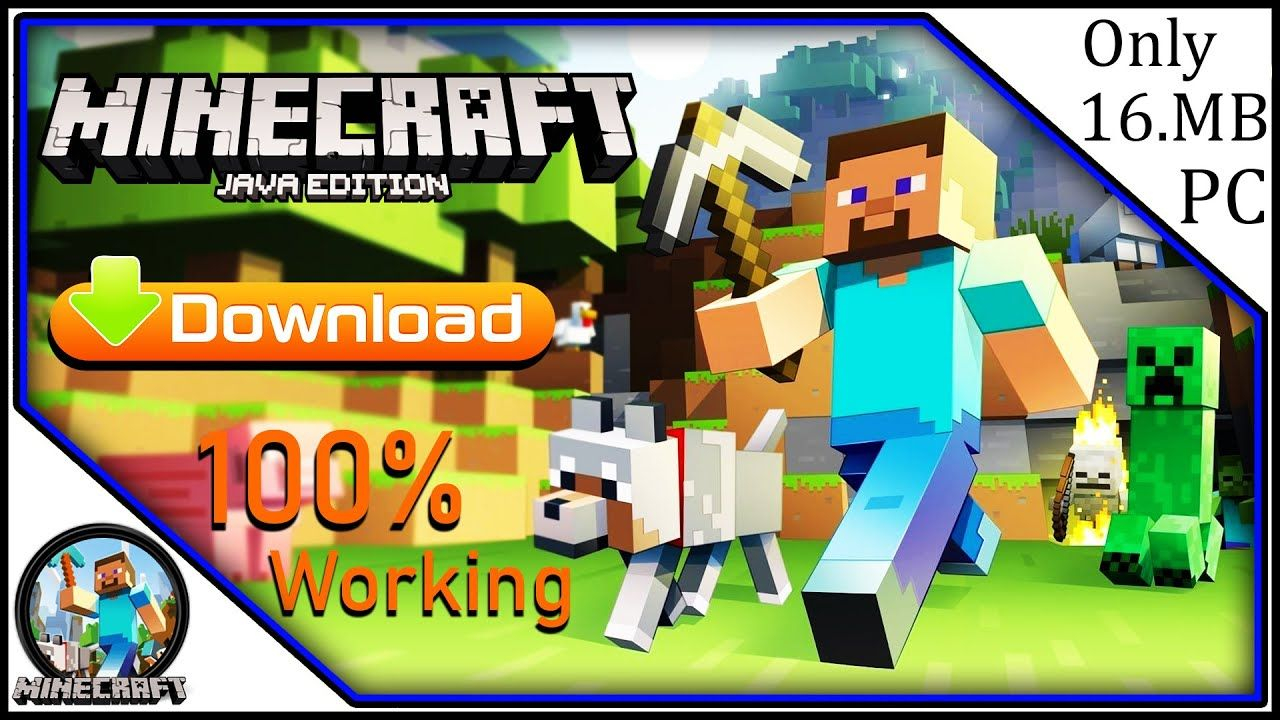 How to Download Minecraft Java Edition 1.16 Free For PC