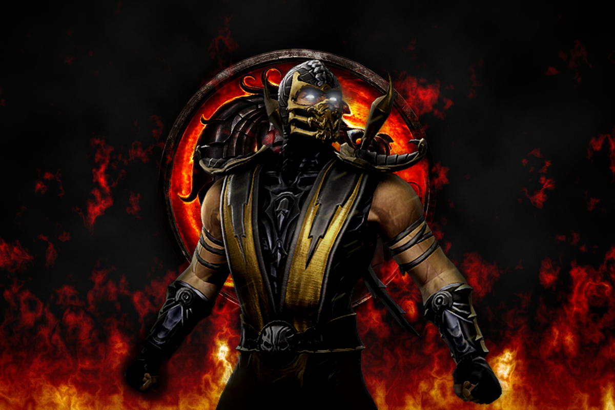 Mortal Kombat Wallpaper For Mac Mis Scorpion Mortal Kombat