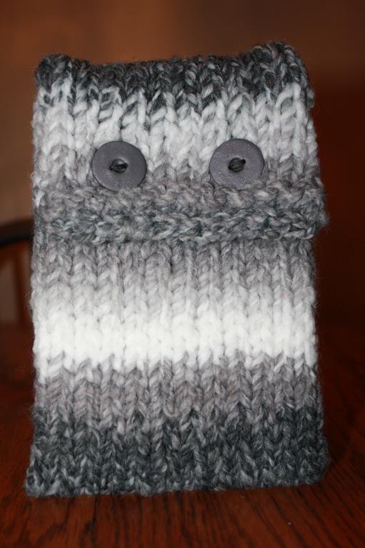 Monster Pocket Kindle Cover Via Craftsy Knitting Pinterest