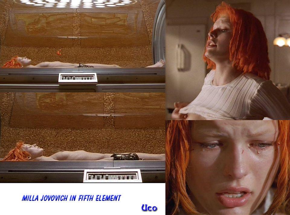milla jovovich the fifth element nude