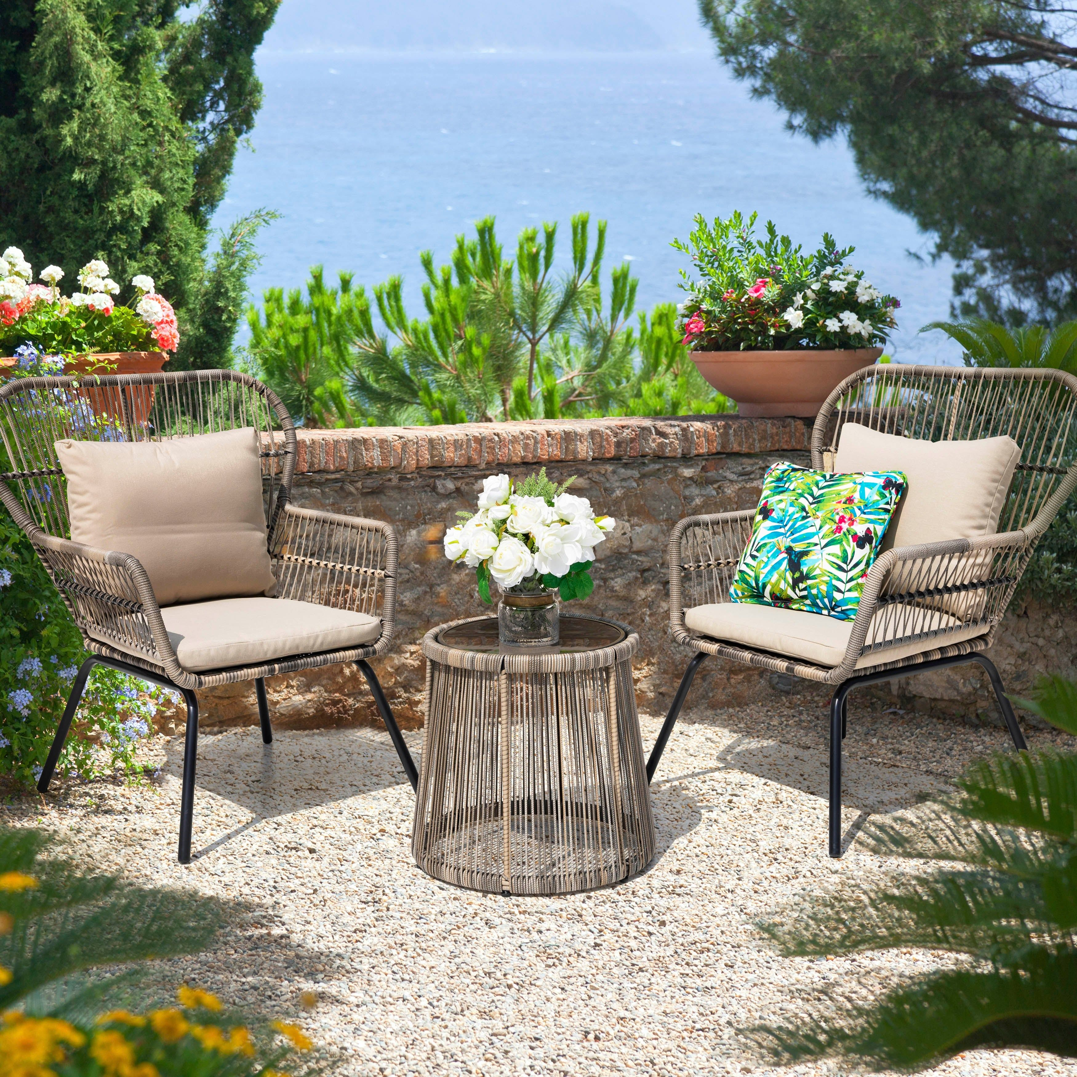 Our Best Patio Furniture Deals In 2021 Conversation Set Patio Bistro Set Patio